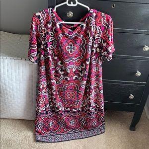 Eliza J print dress